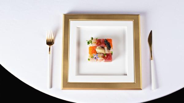 Quadro di crudo - R - La Table d'Antonio Salvatore, Monaco