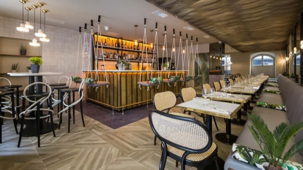 Salle restaurant - Edusa, Nice