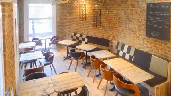 Vue de la salle - ZigZ Waterloo Café, Waterloo