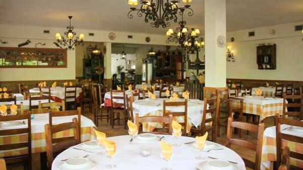 sala do restaurante - A Ramadinha, Vila Nova de Gaia