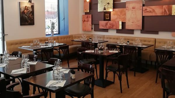 Salle du restaurant - Le Da Vinci, Nice