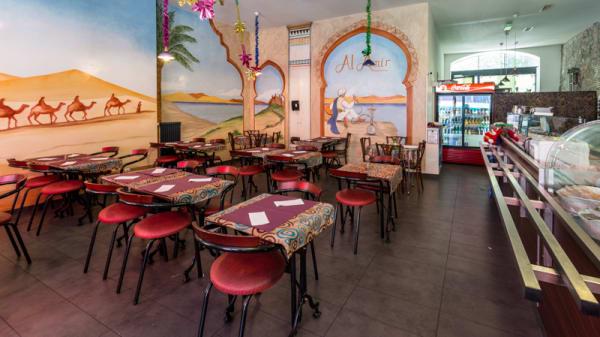 Salle du restaurant - Al-Amir, Genève