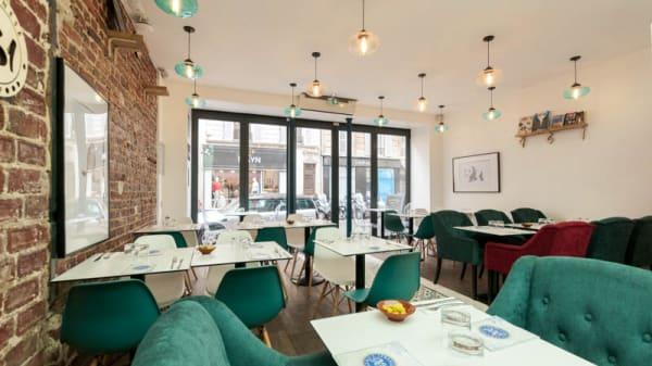 Salle du restaurant - 961 Lebanese Street Food, Levallois-Perret