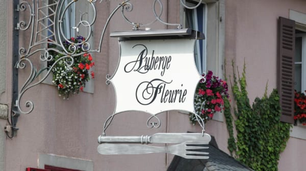 façade du restaurant - Auberge fleurie, Châlonvillars