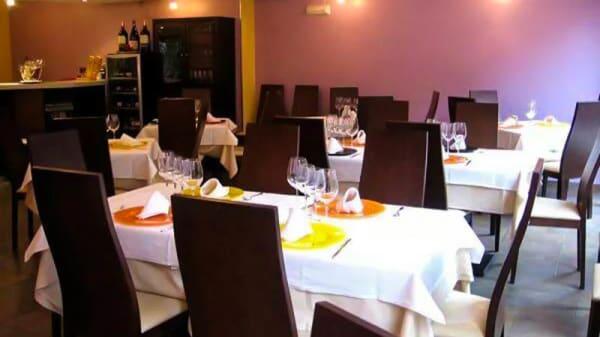 Vista Salón - El Café de Violeta, Madrid