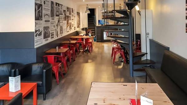 Salle du restaurant - Les Tontons Burgers (Saint-Georges), Lyon