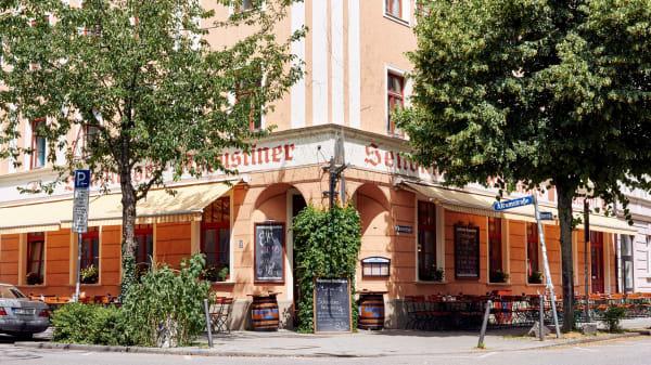 Fassade - Sendlinger Augustiner, München