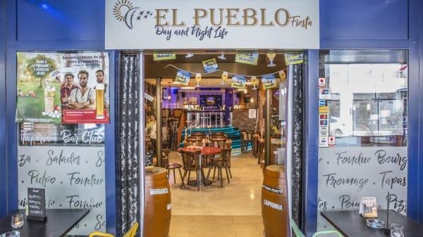 Entrée restaurant - El Pueblo Fiesta, Genève