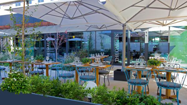 Terraza - The Garden - Hotel Aravaca Village, Madrid
