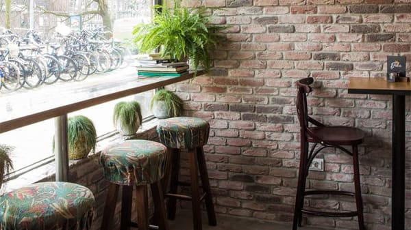 Het restaurant - Fjaka, Amsterdam