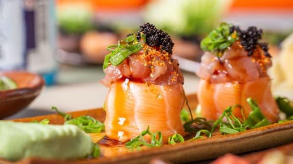 Prato - Oke Robata & Sushi, Campinas