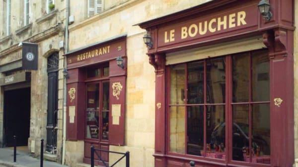 devanture - Le Boucher, Bordeaux