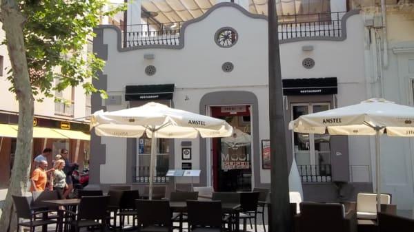 Vista terraza - Sushi Lounge, Vilanova i la Geltrú