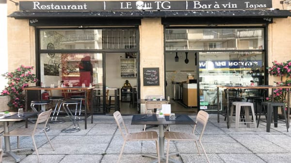 Entrée - Le TG, Marseille