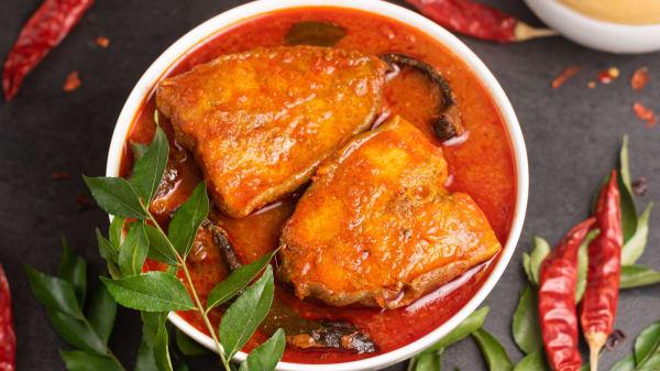 srilankan fish curry - Dammikas Srilankan, London