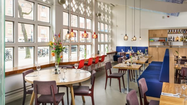 Restaurant - Café Mozaïek, Ámsterdam