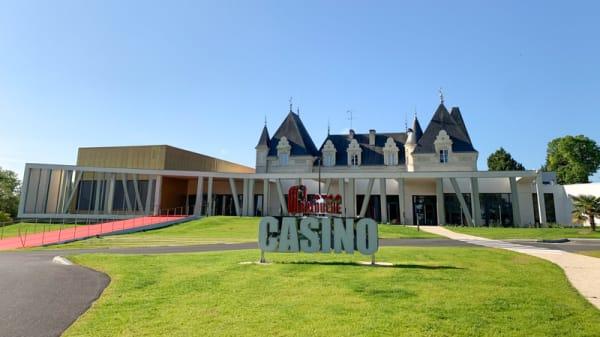 devanture - Le Bistrot Gourmand - Casino de La Roche Posay, La Roche-Posay