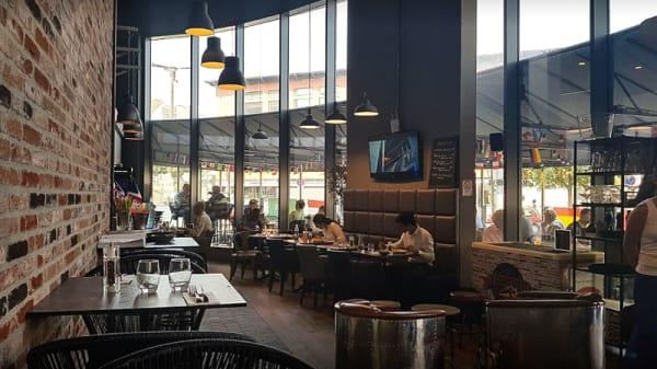 Salle du restaurant - Le Grand-Ouest, Massy