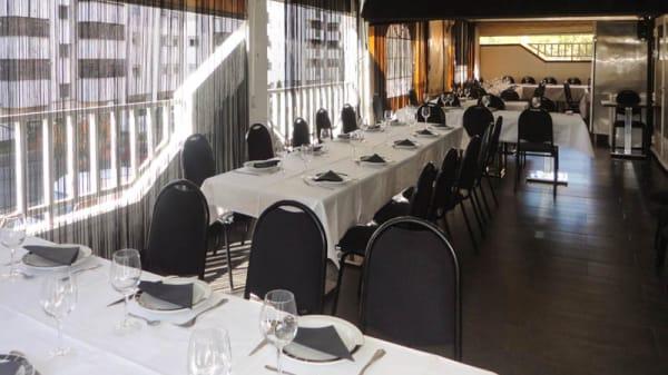 Vista sala - Comedor de Amara, Madrid