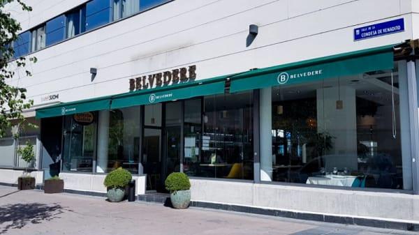 Fachada - Belvedere, Madrid
