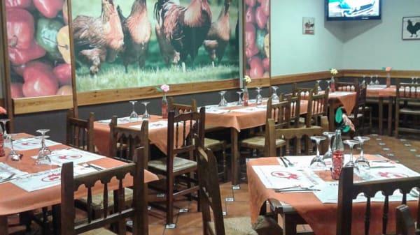 Sala del restaurante - El Pollo Diablo, Zaragoza