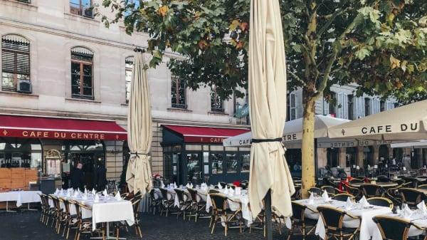 Terrasse - Café du Centre, Genève