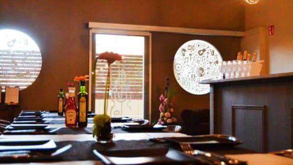 Vista sala - Restaurant La Nau, Caldes De Malavella