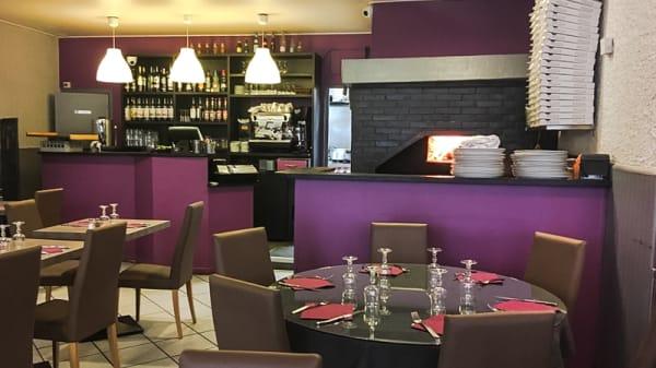 Salle du restaurant - Le San Marco, Lyon