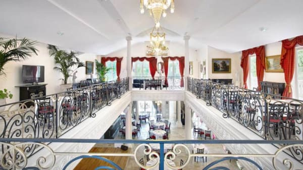 Salon du restaurant - Le Saint-Petersbourg, Mougins