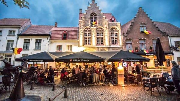 Terrasse - 't Nieuw Walnutje, Bruges