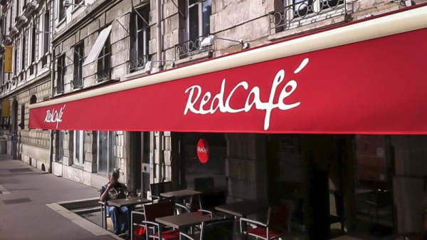 "façade - Ristretto by ""Red Café"", Lyon"
