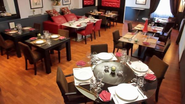 Salle du restaurant - Au 14 février - Saint Valentin, Saint-Valentin