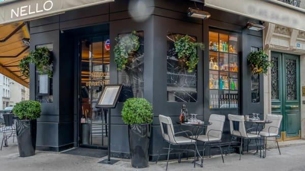 Entrée - Nello, Paris