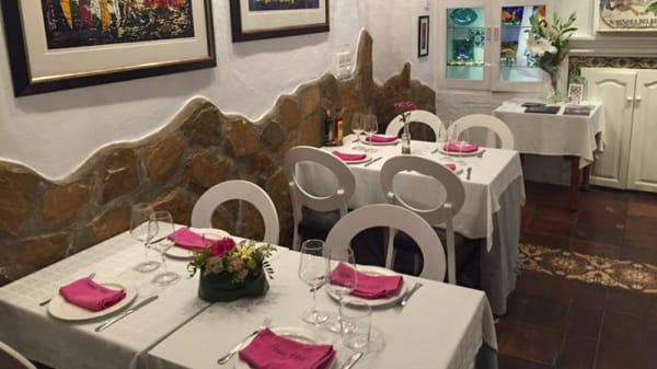 Sala del restaurante - Casa Vital, Altea