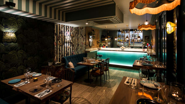 Vista sala - Astrolabius, Madrid