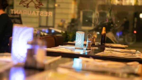 Dining interior - Anmol, Amsterdam