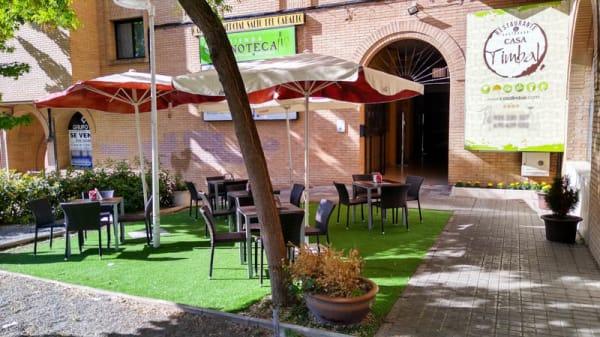 Terraza - Casa Timbal, Toledo