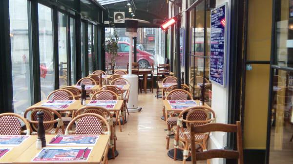 Aperçu de la salle - Café des Forces Motrices, Genève