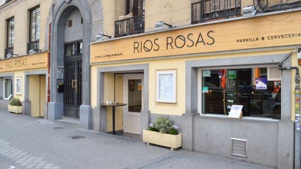 Entrada - Parrilla Ríos Rosas, Madrid