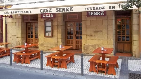 Terraza - Casa Senra, San Sebastián / Donostia