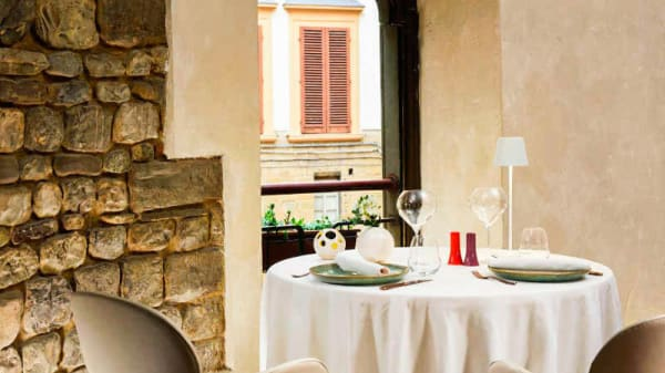 Vista sala - Santa Elisabetta, Firenze