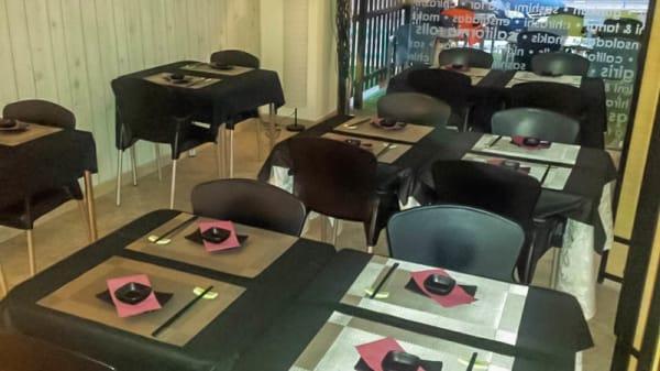 Detalle mesa - Sushi Chef, Boadilla del Monte