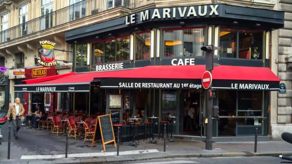 Devanture - Le Marivaux, Paris