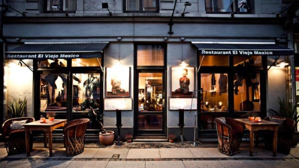 The restaurant - El Viejo Mexico, København