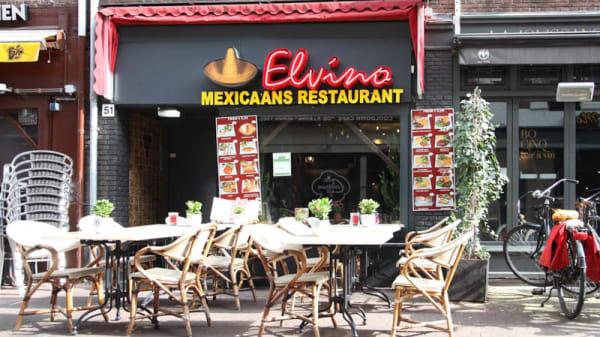 ingang - El Vino Mexicaans en Argentijns restaurant, Ámsterdam