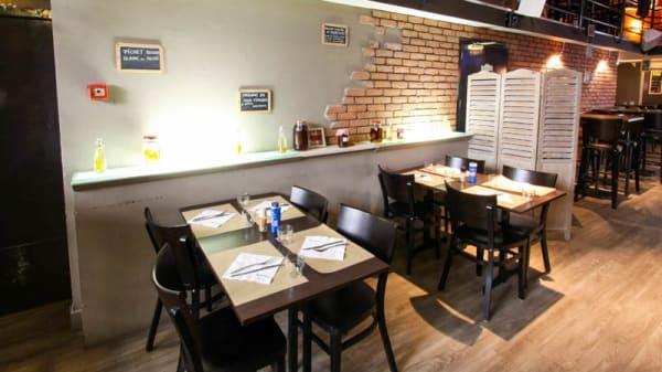 Salon du restaurant - Café Populaire, Poitiers