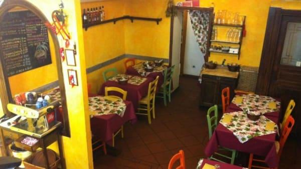 sala interna - Hosteria San Rocco, Frascati