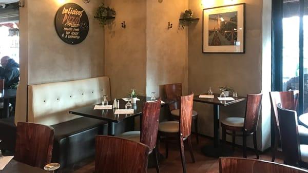 Salle du restaurant - Le liberté, Paris
