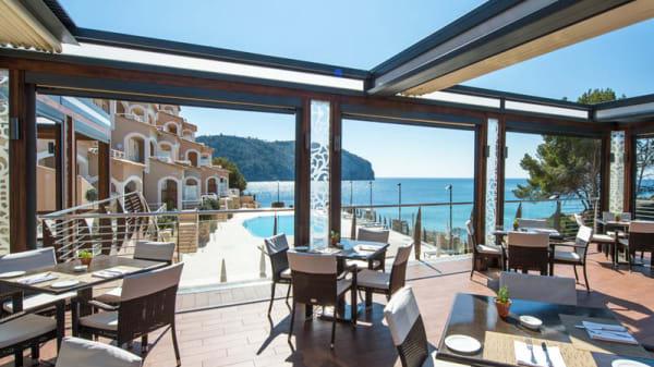 Vistas des del restaurante - Flor de Sal, Camp de Mar, Andratx