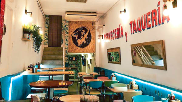Sala - La Chula Cervecería Mexicana, Barcelona